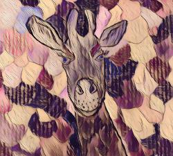 La girafe confinée #2