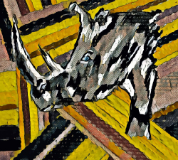 Le rhino confiné #12